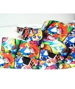 "3 Yards Disney Alice in Wonderland 1"" Ribbon Grosgrain Multi-Color Chesh... - $3.25"