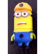 MINION 16GB USB 2.0 Flash Drive & Cover Blue Ye... - $10.05