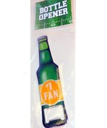 Green Beer Bottle Metal Bottle Opener #1 FAN Fo... - $1.25