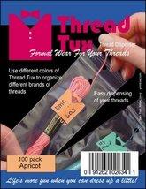 Apricot Thread Tux 2x7 zip lock 100 pack floss storage bag - $8.00
