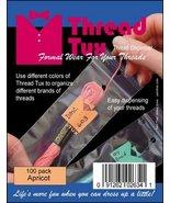 Apricot Thread Tux 2x7 zip lock 100 pack floss ... - $8.00