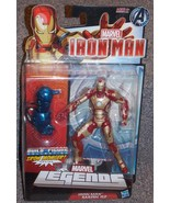 2012 Marvel Legends Iron Man Mark 42 Figure New In The Package - $54.99