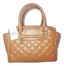 Michael Kors Handbag Selma Medium Top Zip Quilted Leather Satchel, Purse... - $179.99