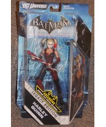 2011 DC Batman Arkham City Harley Quinn Figure New In The Package - $44.99