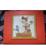 Vintage Pinocchio Record Player , Walt Disney ,  General Electric , 1970's  - $90.00