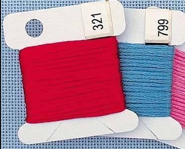 Chipboard Small Floss Keys pack 500 floss storage cross stitch
