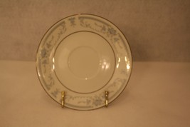 """Sheffield Fine China Saucer Blue Whisper 6"""" Silver Trim - Replacement  - $12.95"""