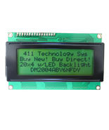 HD44780 20x4 Yellow STN LCD with LED Backlight - $11.99