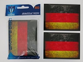 Max-Pro 400 Germany GERMAN FLAG Shuffle-Tech Sleeves Iconic Flags Collection (fi - $35.30
