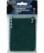 Max Protection Flat Standard Gaming Card Sleeves, Flat Emerald Green, 50... - $4.98