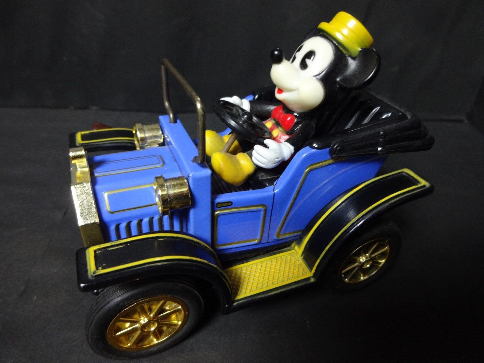 1981 masudaya tin toy mickey mouse classic car made in. Black Bedroom Furniture Sets. Home Design Ideas