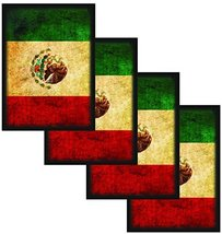 Max-Pro 400 Mexico MEXICAN FLAG Shuffle-Tech Sleeves Iconic Flags Collection (fi - $22.99