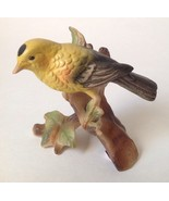 "Vintage Norleans Yellow Gold Finch Bird Figurine Japan 4"" - $19.95"