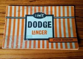 1962 Dodge Lancer Owners Manual Care & Operation Instructions Original 2... - $17.41