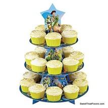 Toy Story Cake Cupcake Tree Stand Party Birthday Decoration Kit Woody Bu... - $11.83