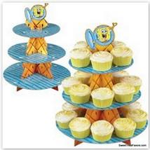 SPONGEBOB Cake Cupcake Tree Stand Party Birthday Decoration Kit Patrick ... - $11.83