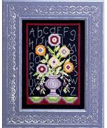 Floral Sampler cross stitch chart Bobbie G Designs - $7.20