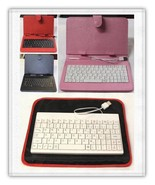 Tablet Case Sleeve / Pouch / Cover + USB Key Board Multiple Choices - $16.77+