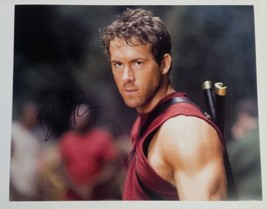 Ryan Reynolds Hand Signed 8x10 Photo COA Deadpool X-Men Marvel - $71.99
