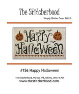 Happy Halloween cross stitch chart The Stitcherhood - $9.00