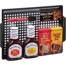 Grill Tray Set with Sweet Baby Ray's Barbecue Sauce Sebastian Spice Co, ... - £21.87 GBP