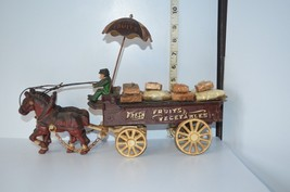 "VNT Cast-Iron Toy ""Fresh Fruit & Veggies"" Wagon... - $108.90"
