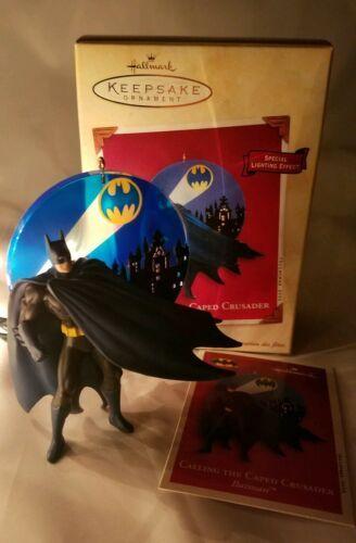 Hallmark Keepsake Ornament Calling the Caped Crusader Batman Lighting Effect
