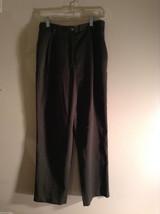 Lizsport Women's Size 10P 10 Petite Spruce Green Pants Slacks (Liz Claiborne)