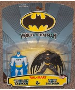 1999 World Of Batman 2 Pack Figures New In The Package  Walmart Exclusive - $24.99
