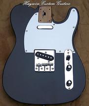 NEW Loaded Black AlderTelecaster Body+Treble Bl... - $337.00