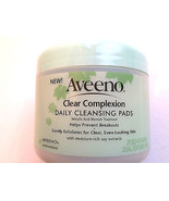 Aveeno Active Naturals Clear Complexion Daily Cleansing 28 Pads - $8.97