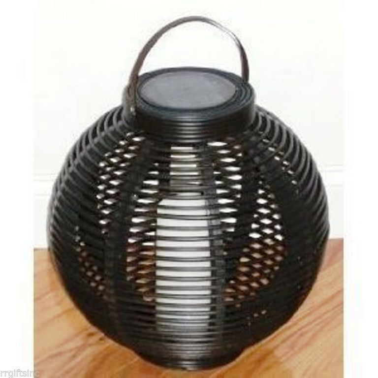 Solar Candle Baskets 2 Pk.LED Patio Pool  Party Yard Safety Security Home Garden - $69.99