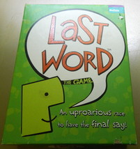 Last Word Board Game - $18.00