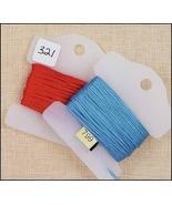 Plastic Small Floss Keys pack 25 floss storage ... - $2.50