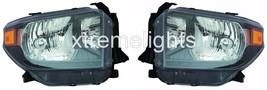 Toyota Tundra 2014 2015 2016 2017 Headlights Head Lamps SET- Trd Pro Model - $346.50