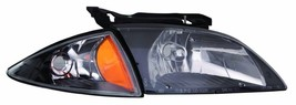 Chevy Cavalier 00 01 02  Black Head Lights Front Lamps Headlights Pair Set - $101.97