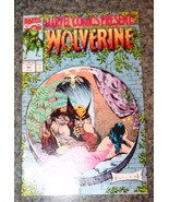 Marvel Comics Presents #90 - 1991 - Wolverine, Ghost Rider, Cable. - $1.29
