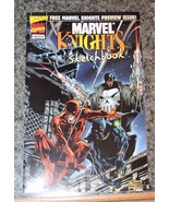 Marvel Knights Sketchbook - Wizard Free Preview - Aug/1998 - $1.28