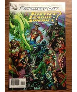 """JUSTICE LEAGUE OF AMERICA   """"BRIGHTEST DAY""""  #44  JUNE  2010 - $1.28"""