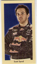 Scott Speed 2009 Press Pass Pocket Mini Portraits Walmart Version #Ppw 7 - $3.99