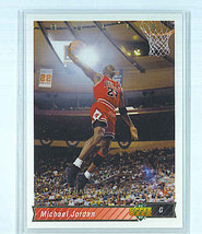 Michael Jordan (Chicago Bulls) 1992 93 Upper Deck He's Back March 19, 1995 Card - $1.99