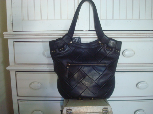 Primary image for Hayden Harnett Zee Tote In Black  $518.00