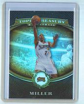 Andre Miller 2008 09 Topps Treasury Bronze Refractor #85 & 250/999 - $2.99