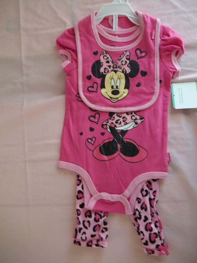 fa3e28299a73 Disney Minnie Mouse 3pc Baby and 50 similar items