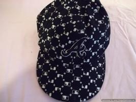 Rare Atlanta Braves Baseball cap/Hat-Size: 7 1/4 - Colors: Black and Whi... - $13.99