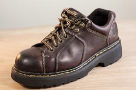 Dr Martens 6 Brown Oxfords Mens Leather Shoes 9351 Vintage - $69.00