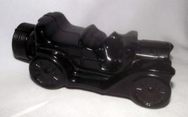 Avon Decanter Car Touring Automobile Excalibur After Shave Black Glass C... - $17.80