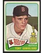 1965 Topps #55 Tony Conigliaro Boston Red Sox Baseball Card, VG 3, 65/35 - $8.79
