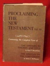Timothy Titus New Testament Proclaiming the Corinthians Barackman McPhee... - $9.89