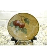 "222 Fifth Interiors Cheri Bloom Cortland 8 1/8"" Salad Plate fruit Plum - $3.75"
